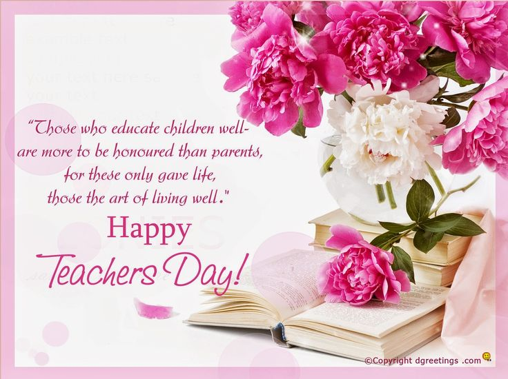 Marvelous Happy Teachers Day Greetings Facebook Pictures Gallery