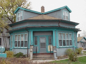 Top 25 best octagon house ideas on pinterest haunted for Home builders fond du lac wi