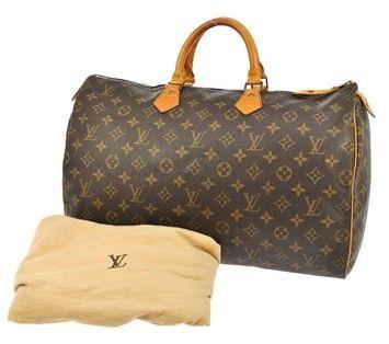 Louis Vuitton Speedy 40 Brown Bag - Satchel $695