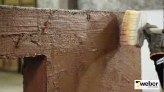 Grunda murverket innan putsning WeberSverige - YouTube