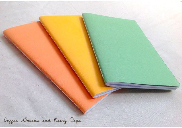 DIY: Coptic and Saddle Stitch Binding | Coffee Breaks and Rainy Days