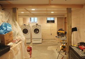 low ceiling basement ideas - Google Search