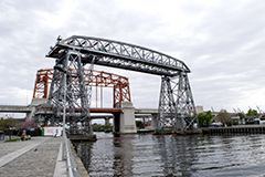 """Viejo Puente Transbordador """"Nicolás Avellaneda"""""""