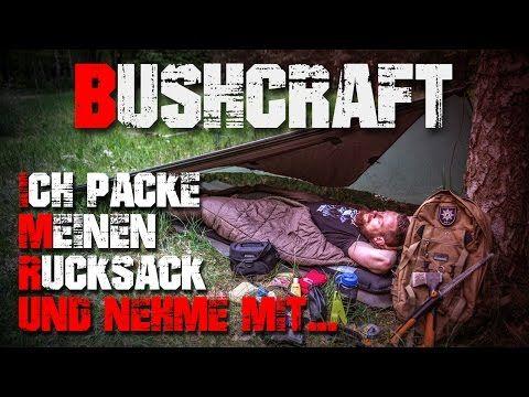 Mein Rucksack für eine Übernachtung - Overnight Pack Kit - Bushcraft Deutschland (german/deutsch) - YouTube