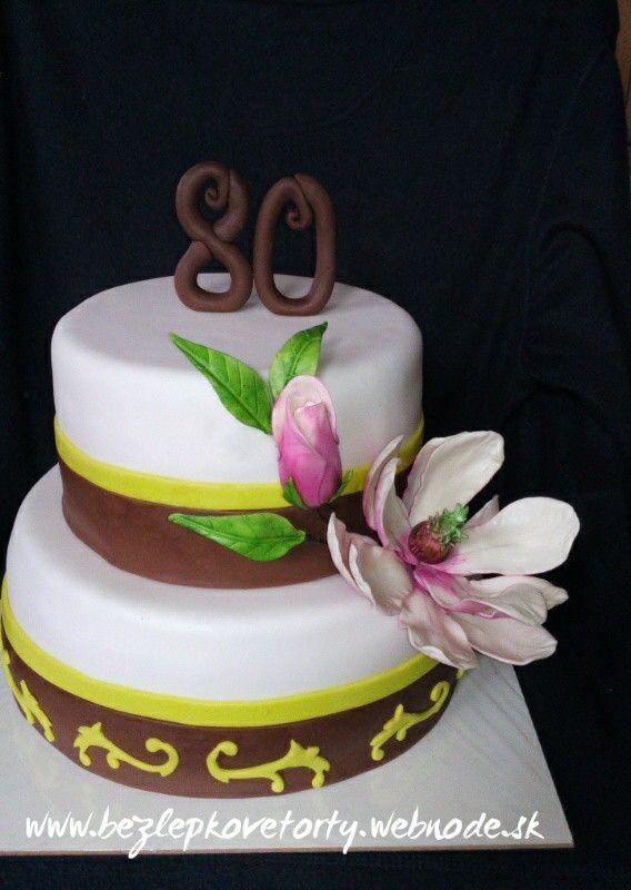 Torta s magnoliou