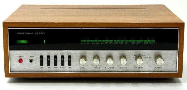 harman kardon 330a am fm vintage stereo receiver from the. Black Bedroom Furniture Sets. Home Design Ideas
