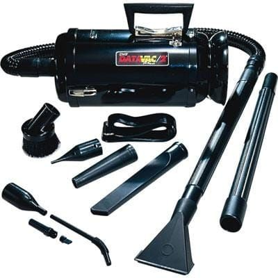 Metropolitan Vacuum Metrovac Data Vac Pro Mdv-3Ba Portable Vacuum Cleaner, Black