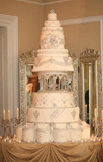 crystal wedding cake | Keep up with Suzies adventures in the world of food and wine at The ...