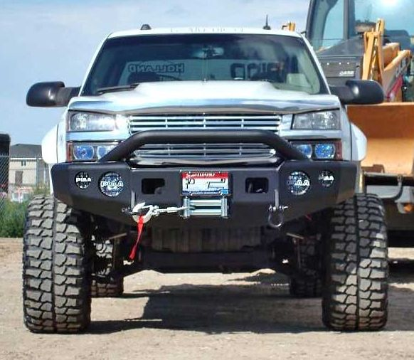 Trail Ready 10300p Winch Front Bumper With Prerunner Guard Chevy Silverado 2500 3500hd 2001 2002 Chevy Silverado 2500 Chevy Silverado Chevy Trucks Accessories