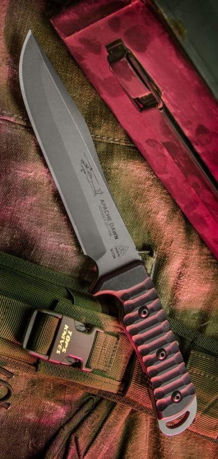 TOPS Knives Apache Dawn 2 Rockies Edition Tactical Survival Fixed Knife Blade @aegisgears