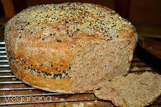 Pão semi integral com gergelim - Fermentação lenta