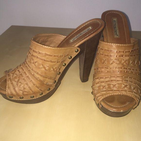 Clog inspired heels Very comfortable, gently used Atmosphere- Primark  Shoes