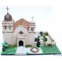 California Mission Model Kit: San Carlos Borromeo de Carmelo