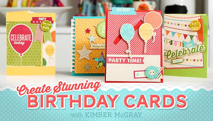 stunning birthday cards class  check out free classes on this site
