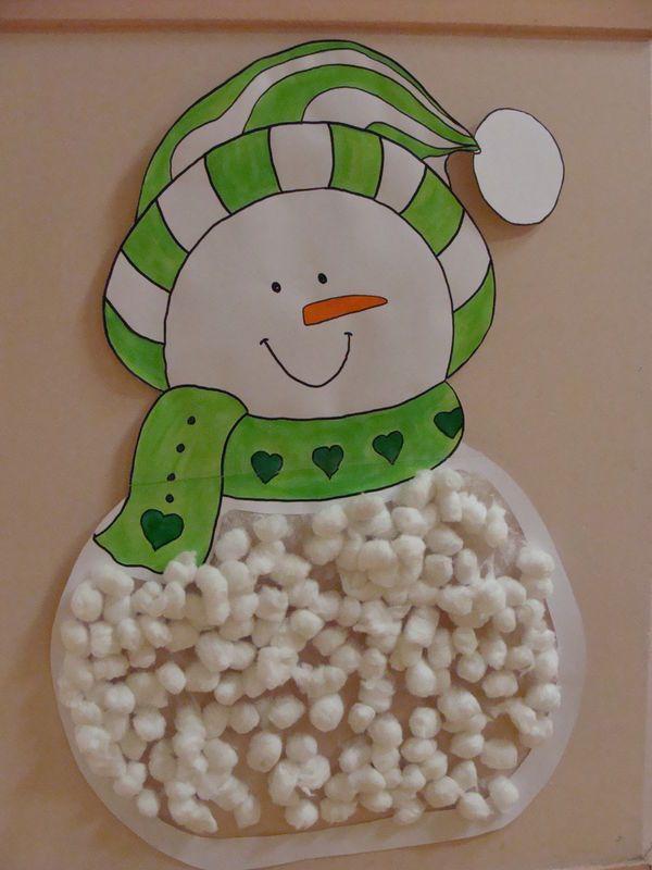 Bonhommes de neige tout doux.