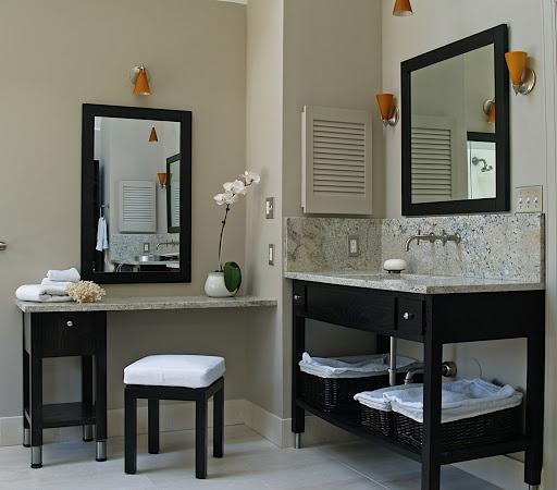 Photo Image Jeffrey Alexander Chelsea Metro Single Bathroom Vanity with Optional Mirror The wide solid wood Lyn Design Chelsea Metro Single Bathroom Vanity with