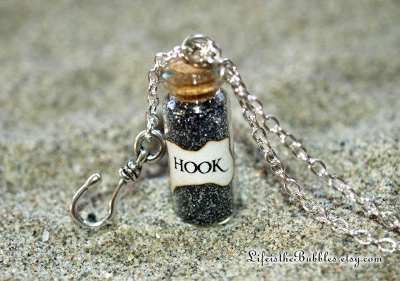 wholesale sterling silver ring settings Captain HOOK Magical Necklace with a Pirate Ship Charm  Once Upon a Time  Captain Swan  Storybrooke  ABC Television  by Fandom Magic on Etsy   16 00