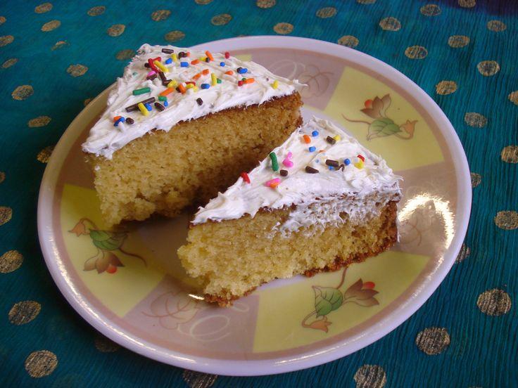 Vanilla Cake ...Simple and Delicious !!!