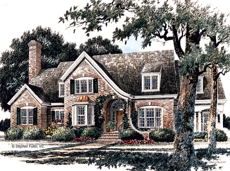 house plan cordova place stephen fuller inc fc house plans pinterest house luxury floor plans and english country style
