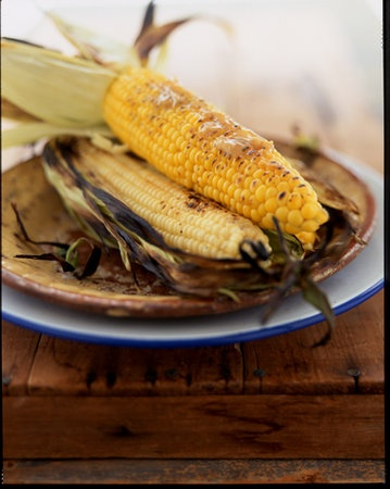 Mielies  (barbequed corn on the cob, YUM!)found folios.com