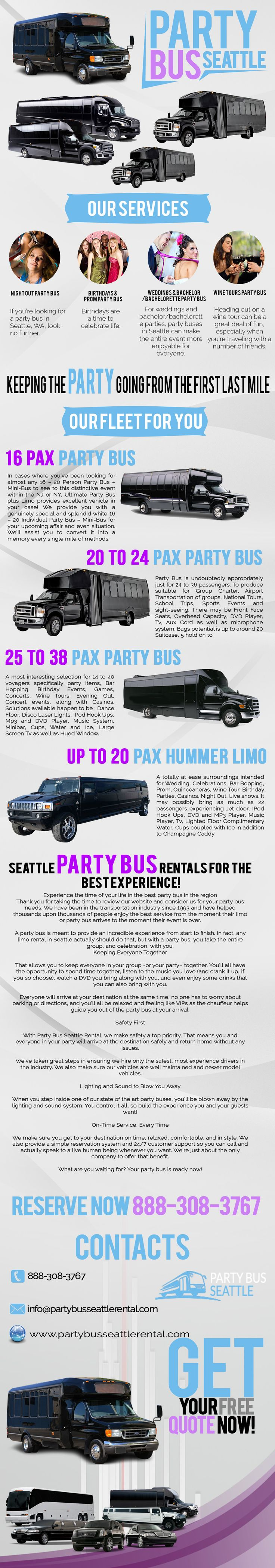 Best 25 Party bus rental ideas on Pinterest