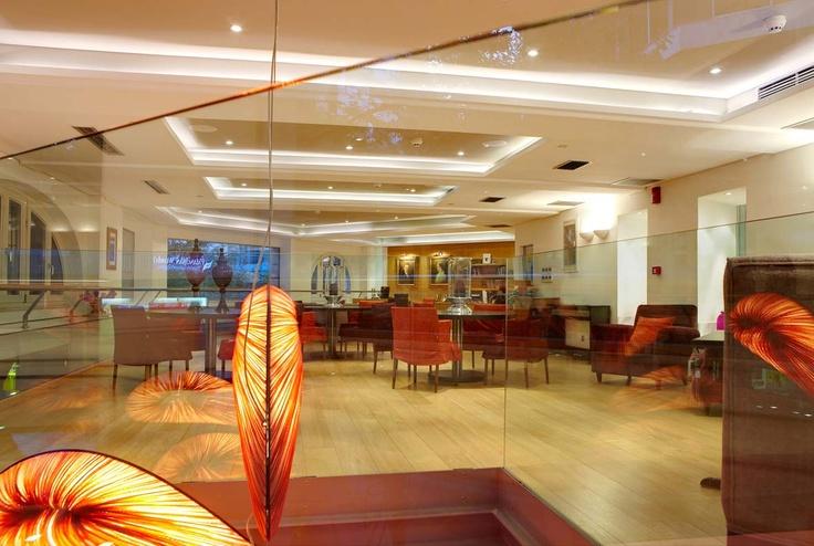 Mezzanine of Excelsior Hotel Thessaloniki Greece  hotel.http://www.excelsiorhotel.gr/exhibitions-center-thessaloniki.php