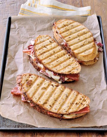 Salami & Cheese Panini.. #italianfood taste with Ferrarini Parma Ham