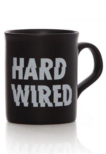 Metallica - Hardwired - Tasse - Offizieller Classic Rock Merchandise Shop - Impericon.com DE