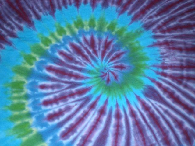Tye Die colors