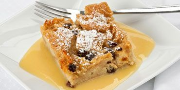 Baked Custard French Toast with Cinnamon Honey Butter - prepare the night before