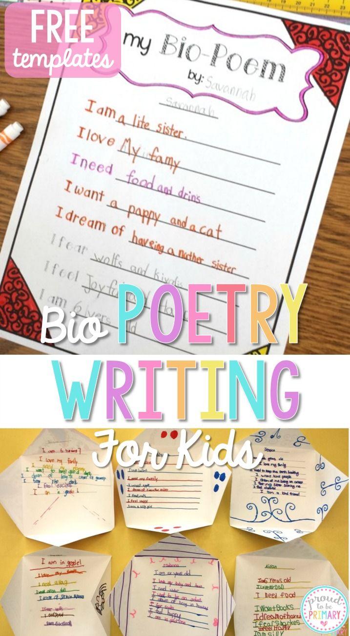 Poetry Worksheets and Printables