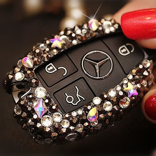 Nice Mercedes 2017: Bling Car Key Holder with Rhinestones for Mercedes Benz - Carsoda - 1... Bling Your Ride Check more at http://carsboard.pro/2017/2017/01/20/mercedes-2017-bling-car-key-holder-with-rhinestones-for-mercedes-benz-carsoda-1-bling-your-ride/