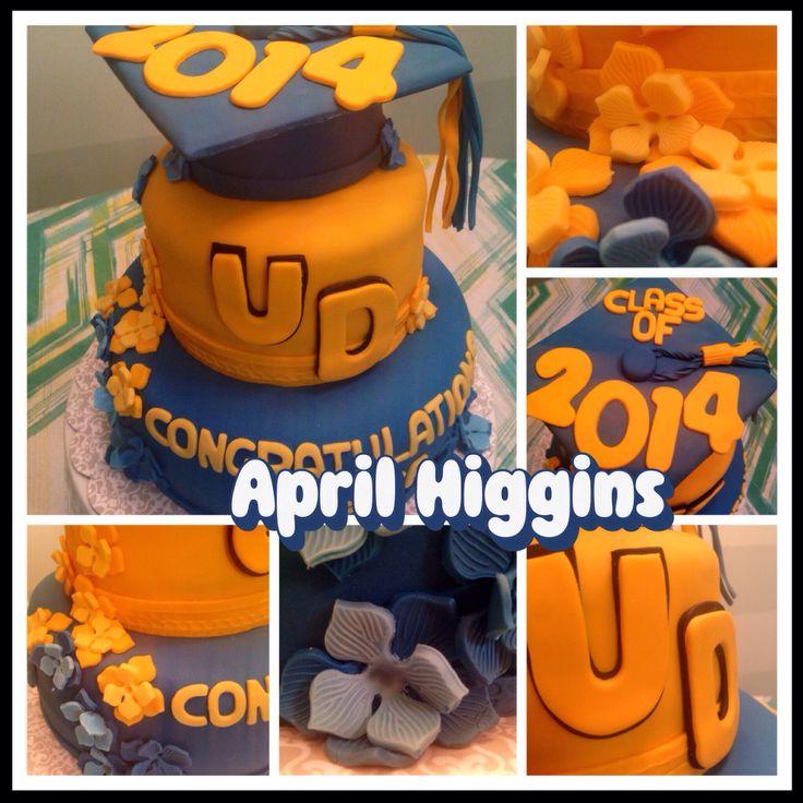 University of Delaware Cake