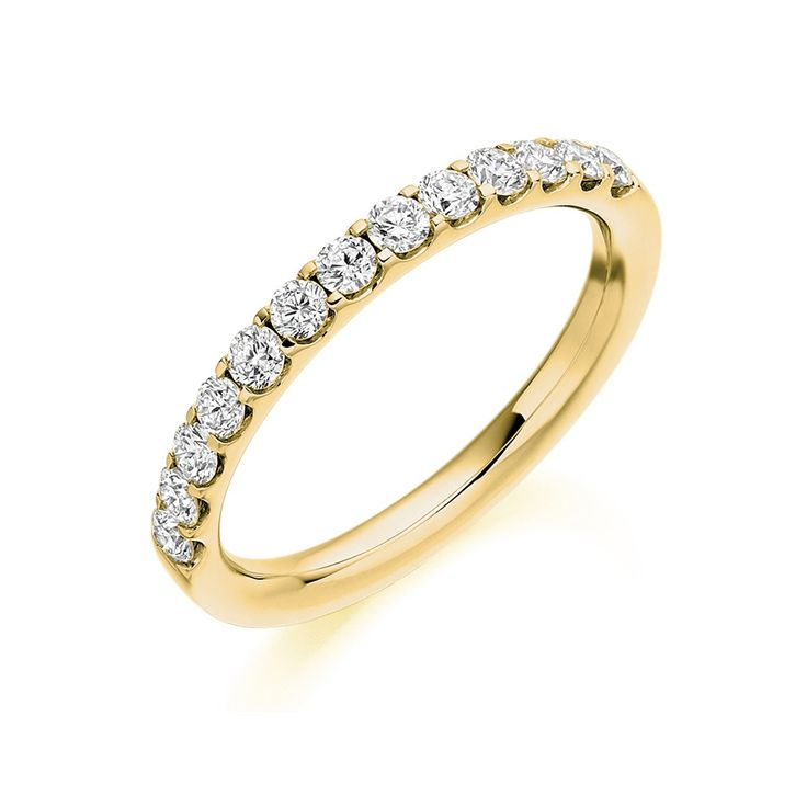 band gold eternity white ring rings canary pid yellow fancy diamond colored bands