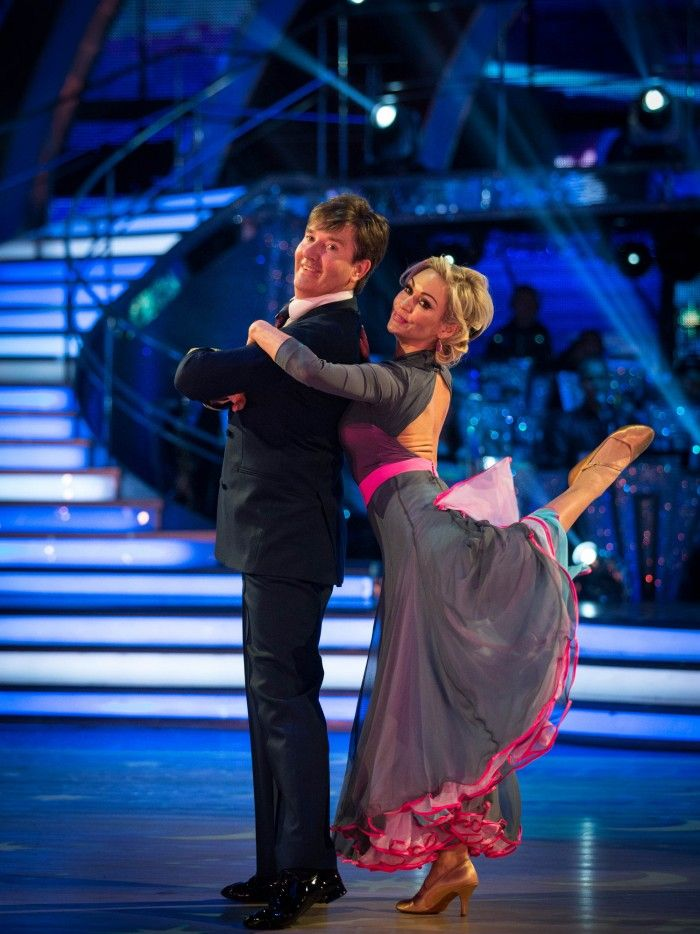 SCD Week 4, 2015. Daniel O'Donnell and Kristina Rihanoff. American Smooth. Voted off.