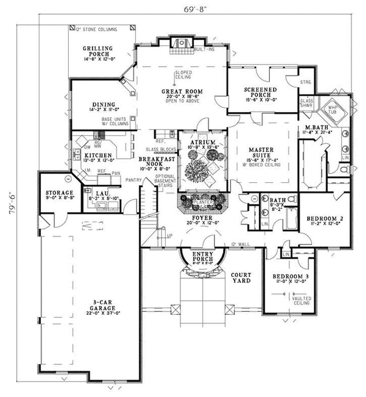 Best 10+ House plans and more ideas on Pinterest | Square floor ...