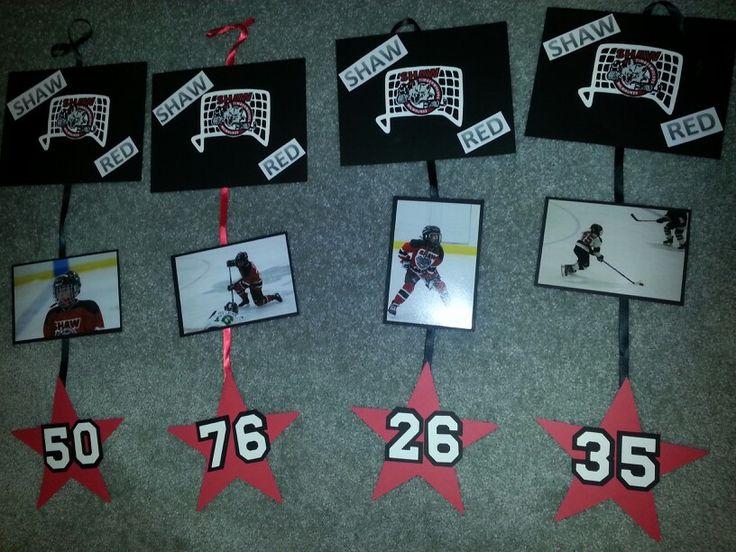 Hockey Hotel Door Signs