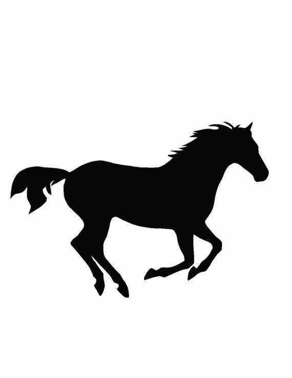 Horse wall vinyl