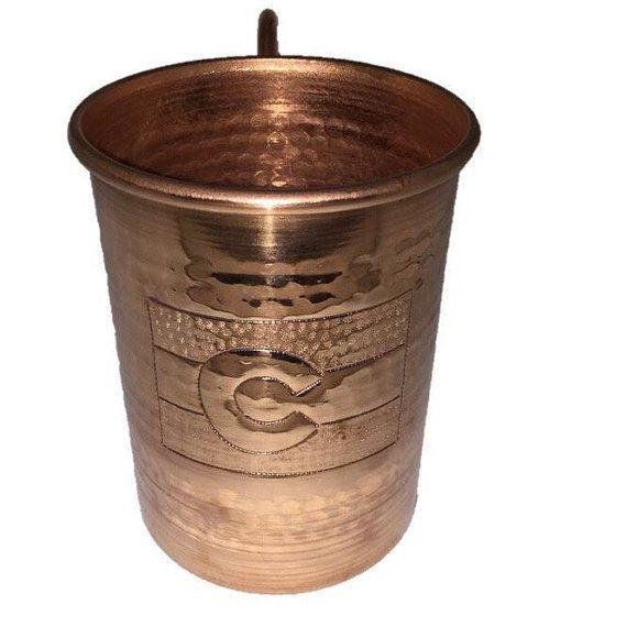 16 oz. Moscow Mule Hammered Copper Mug w/ by LunAzuLGallery