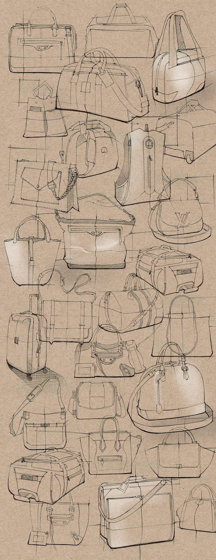 SKETCHBOOK-Sketches on Behance--------이렇게 깔끔해보이게 스케치하는 연습을 할때 참고하자