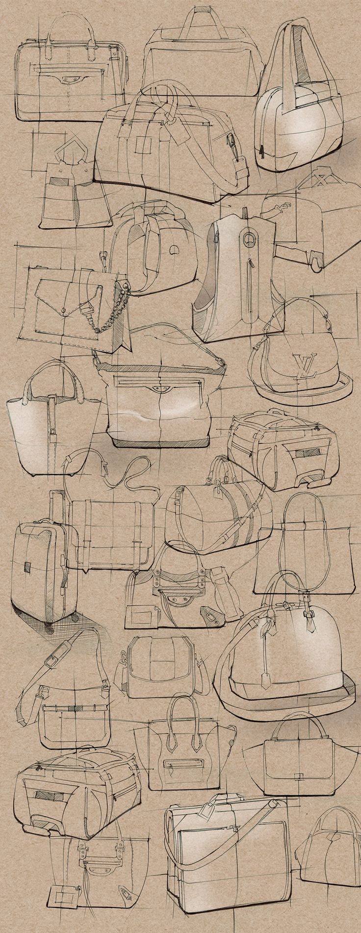 SKETCHBOOK-Sketches on Behance