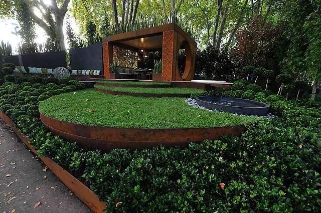 Steel Corten Beauty And Style In Your Garden Metal Garden Edging Steel Edging Landscape Steel Garden Edging