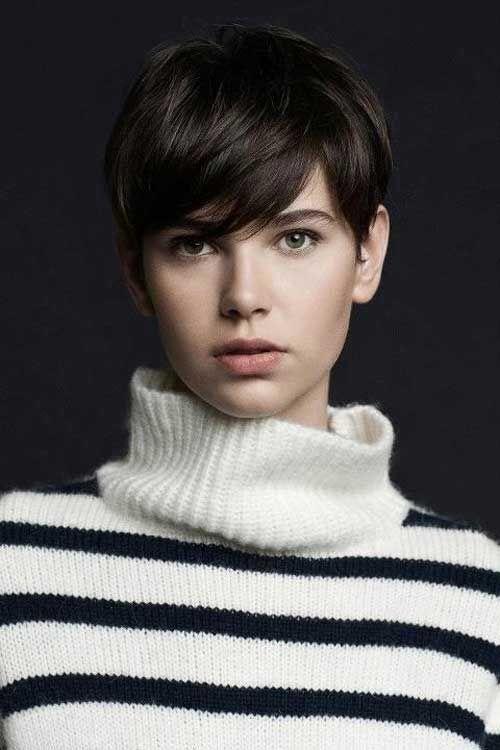 23 stilvolle Frisuren für Brunettes