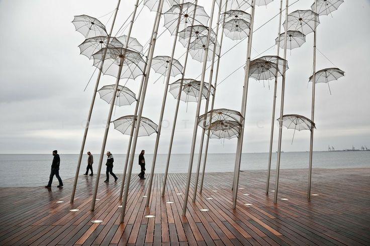 """Umbrellas"" - Thessaloniki - Greece"