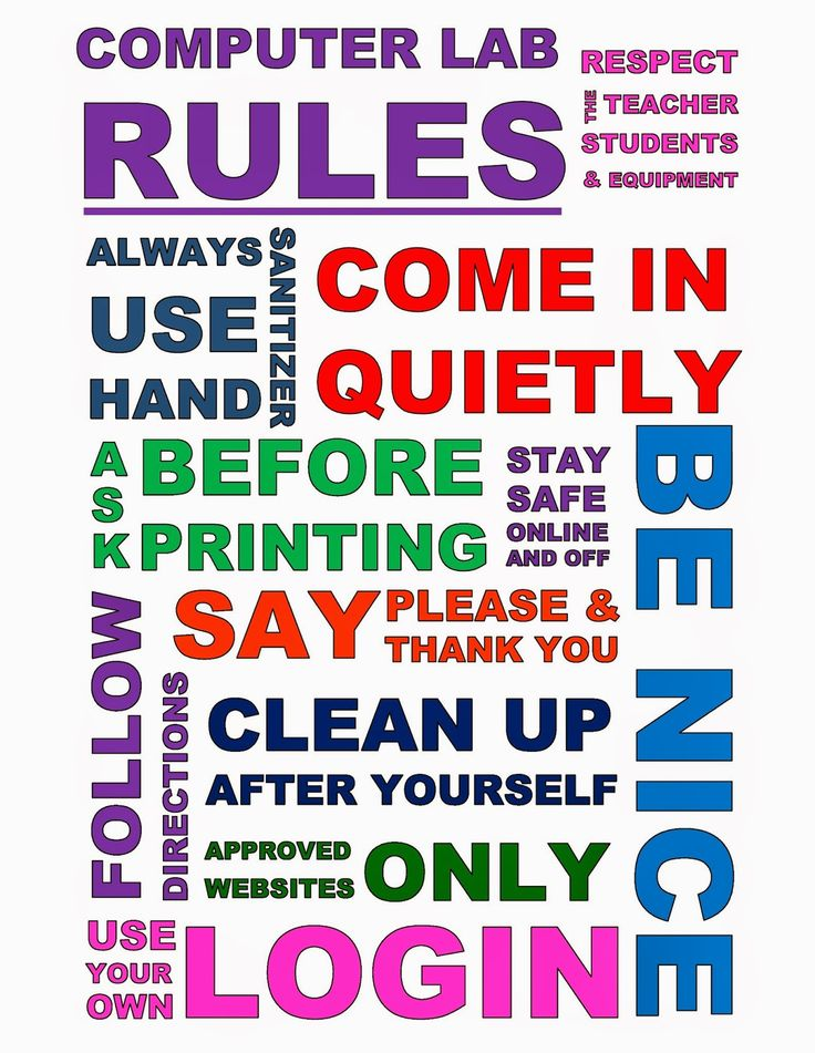 Modern Classroom Rules ~ Images about new class on pinterest computer lab