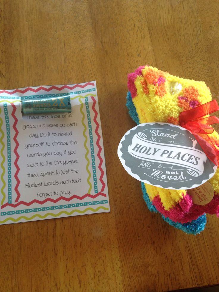 Secret sisters gift for girls camp!