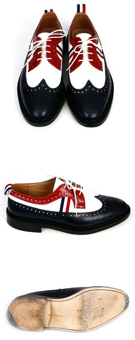 My zoot suit shoe. Thom Browne #shoes #men #fashion #promshoesmen