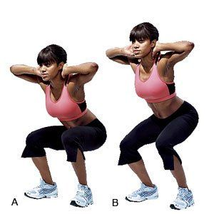 Working towards a tight bum? Well, here's the ultimate guide for a firm butt. The 1 & 1/4 Squat is the starting point.     Get the full workout here: http://www.womenshealthsa.co.za/fitness/workouts/get-a-tight-bum-workout