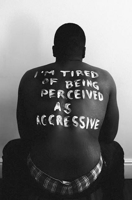 """I am tired of a society that encourages me to feel uncomfortable in my own skin."""