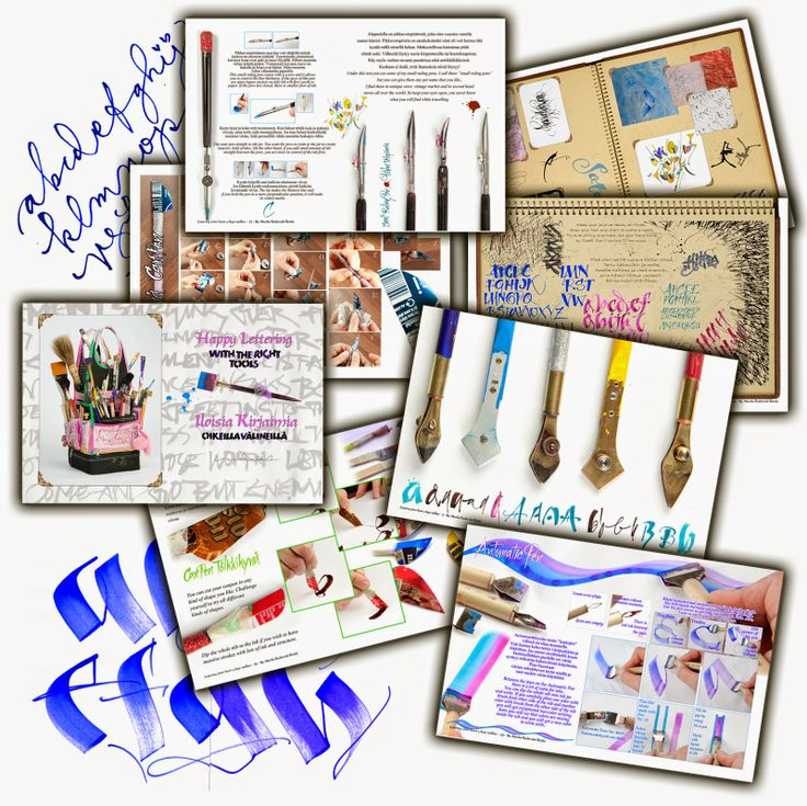 """Now, straight from the printer, this """"whimsical lettering""""#happy lettering""""#fun letters"""" book is available fromhttp://www.johnnealbooks.com/prod_detail_list/s?keyword=happy+lettering+with+the+right+tools"""